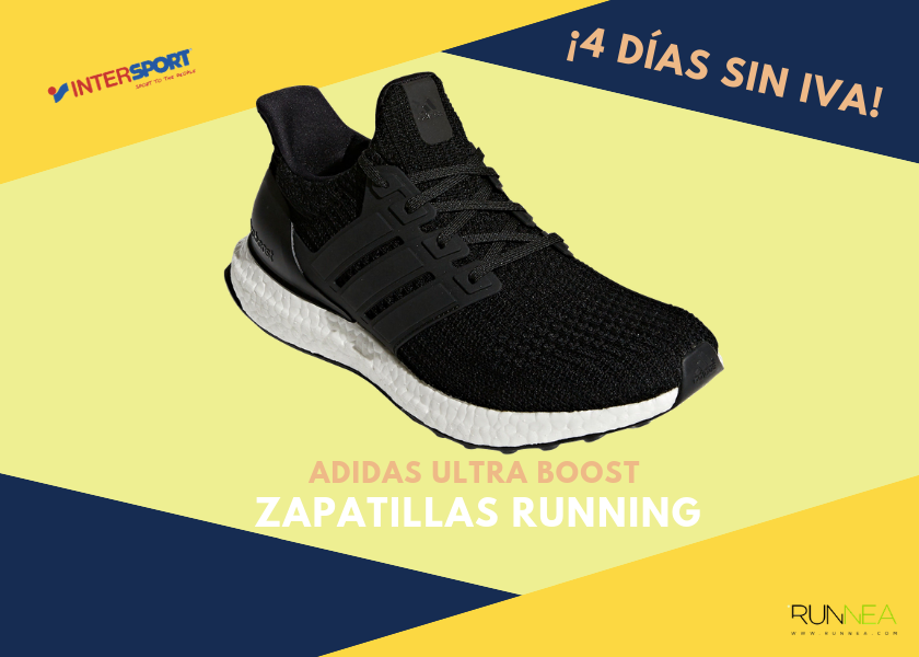 Zapatillas running en Intersport con 4 días sin IVA - Adidas Ultra Boost 480fbbd6dc524