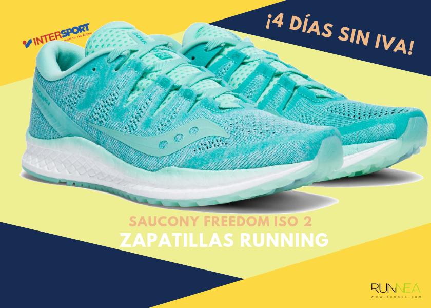 san francisco 95c2d 470b7 Zapatillas de running en Intersport  ¡4 días sin IVA! - Saucony Freedom ISO