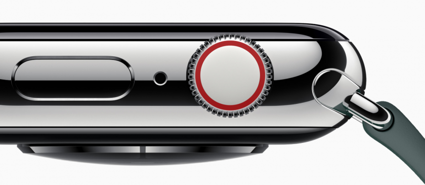 apple watch series 4 digital crown