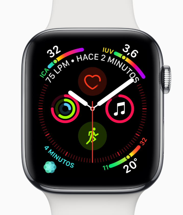 apple watch series 4 pantalla