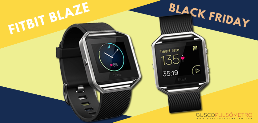 Black Friday 2018 en relojes deportivos con GPS, las mejores ofertas - Fitbit Blaze