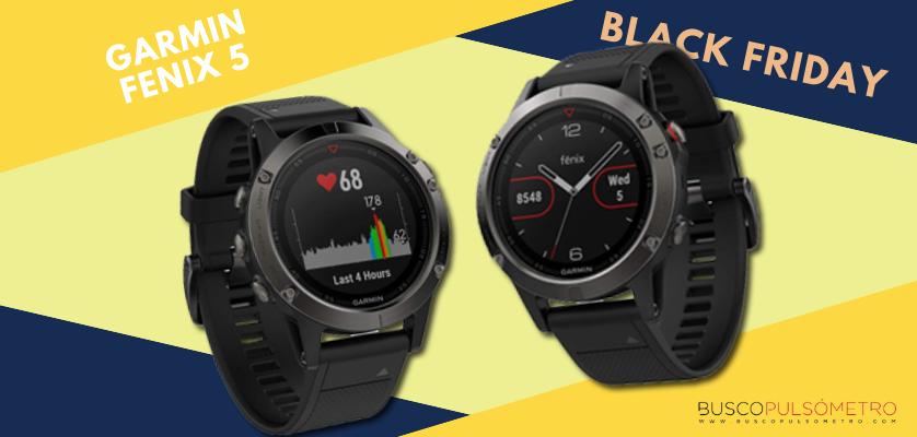 Black Friday 2018 en relojes deportivos con GPS, las mejores ofertas - Garmin Fenix 5