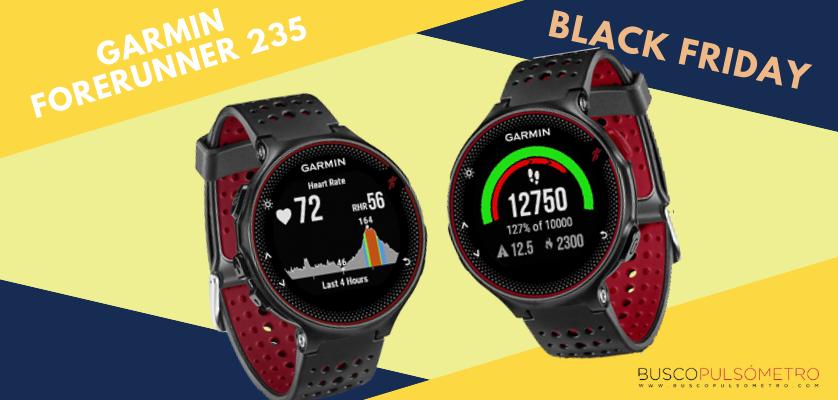 Black Friday en relojes deportivos con GPS, las mejores ofertas - Garmin Forerunner 235