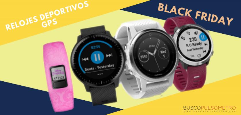 Para estrenar cdefd fba1a Black Friday relojes deportivos con GPS: Las mejores ofertas ...