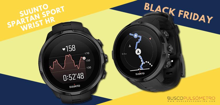 Black Friday 2018 en relojes deportivos con GPS, las mejores ofertas - Suunto Spartan Sport Wrist HR