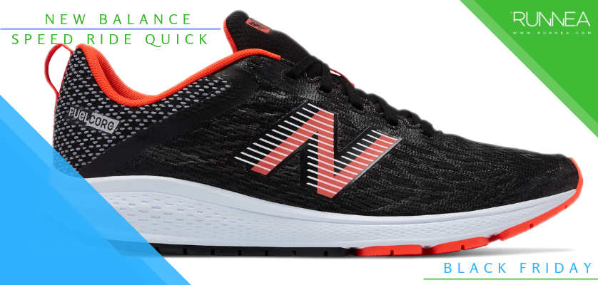 Black Friday en zapatillas de running, rebajas de la semana - New Balance Speed Ride Quikc RN