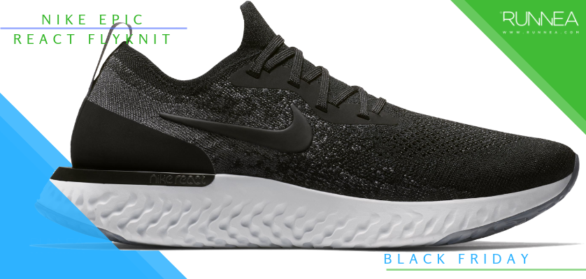 Black Friday en zapatillas de running, rebajas de la semana - Nike Epic React Flyknit