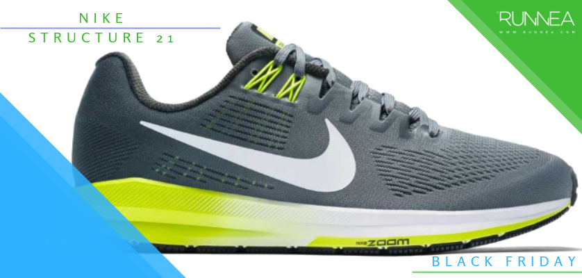 Black Friday en zapatillas de running, rebajas de la semana - Nike Air Zoom Structure 21