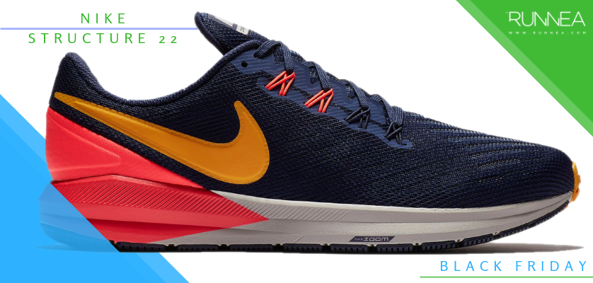 Black Friday en zapatillas de running, rebajas de la semana - Nike Air Zoom Structure 22