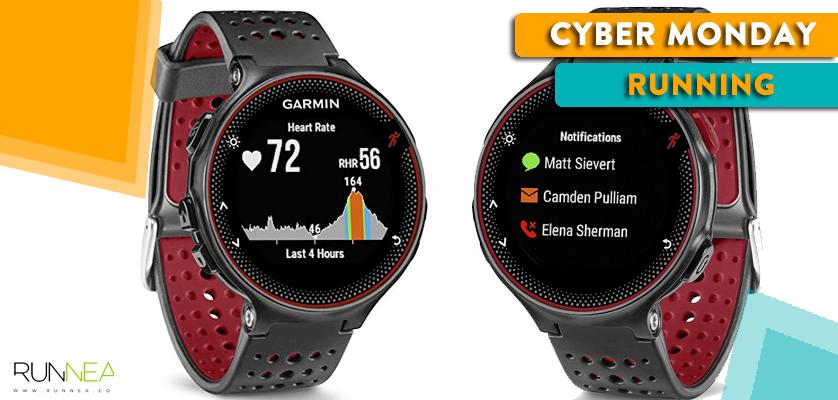 Mejores ofertas running del Cyber Monday - Garmin Forerunner 235