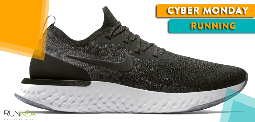 Mejores ofertas running del Cyber Monday - Nike Epic React Flyknit