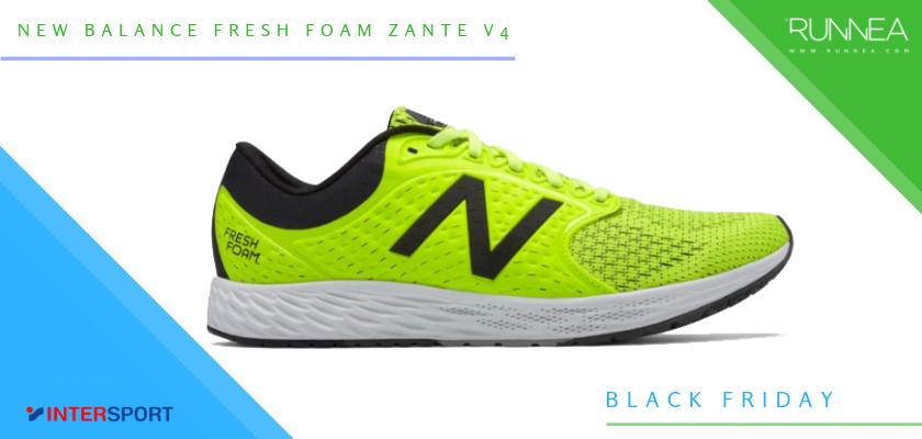 Intersport Black Friday 2018: Las 6 mejores ofertas en zapatillas running y pulsómetros, New Balance Fresh Foam Zante v4