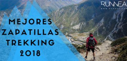 Las mejores zapatillas trekking 2018