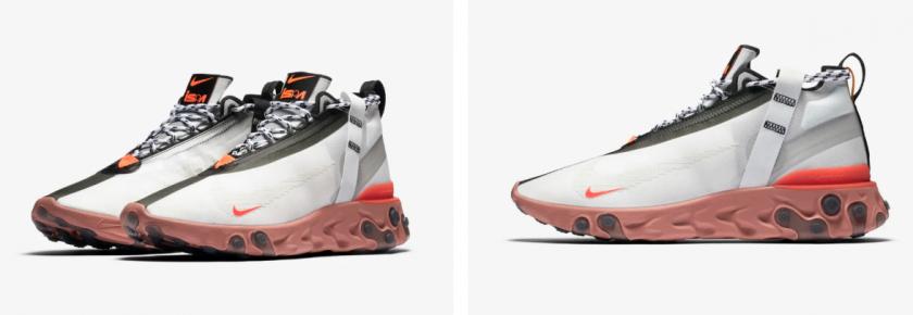 Nike React Runner Mid ISPA White
