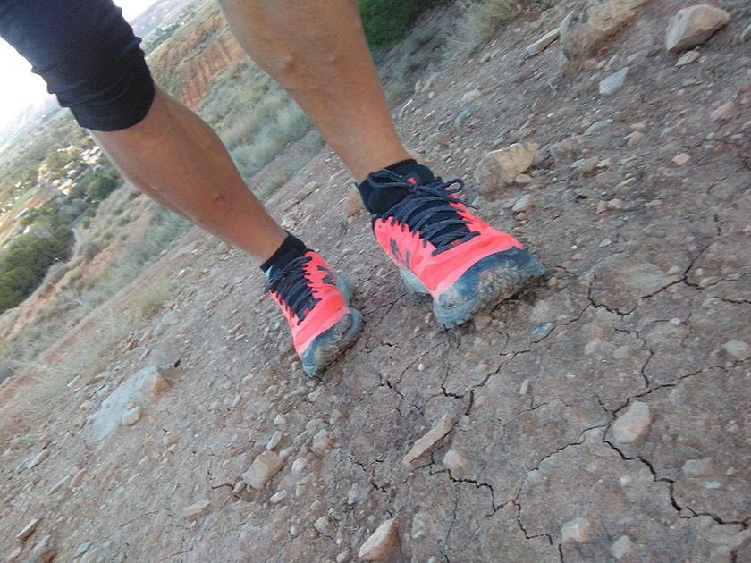 Review de las New Balance Summit KOM, terreno para correr- foto 13