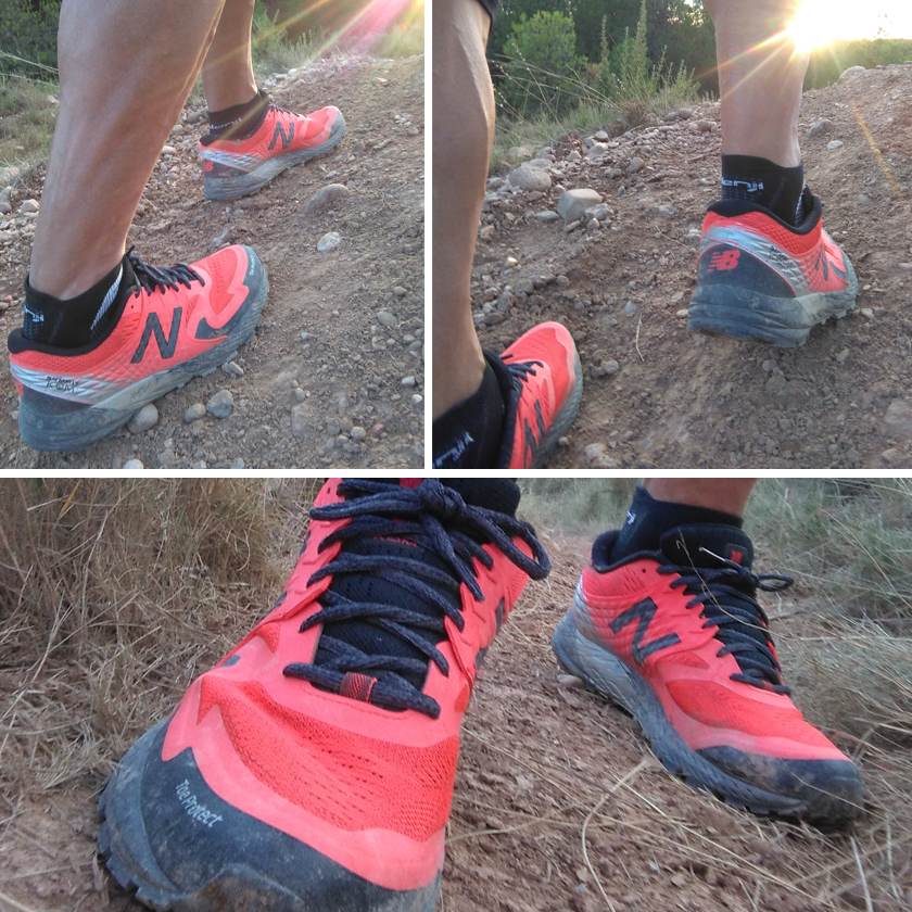 Review de las New Balance Summit KOM, taqueado de la suela - foto 6