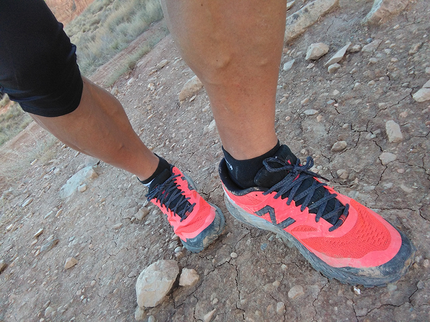 Review de las New Balance Summit KOM, upper y sus cordones - foto 11