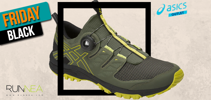 Black Friday ASICS Outlet, las mejores ofertas en zapatillas de running - ASICS Gel Fujirado