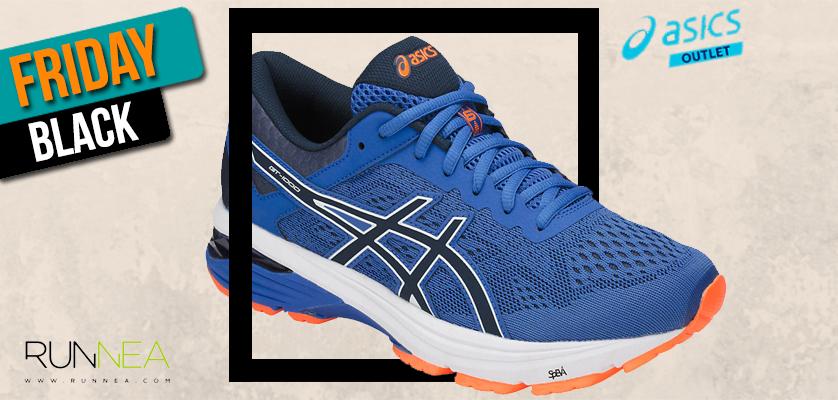 Black Friday ASICS Outlet, las mejores ofertas en zapatillas de running - ASICS GT-1000 6