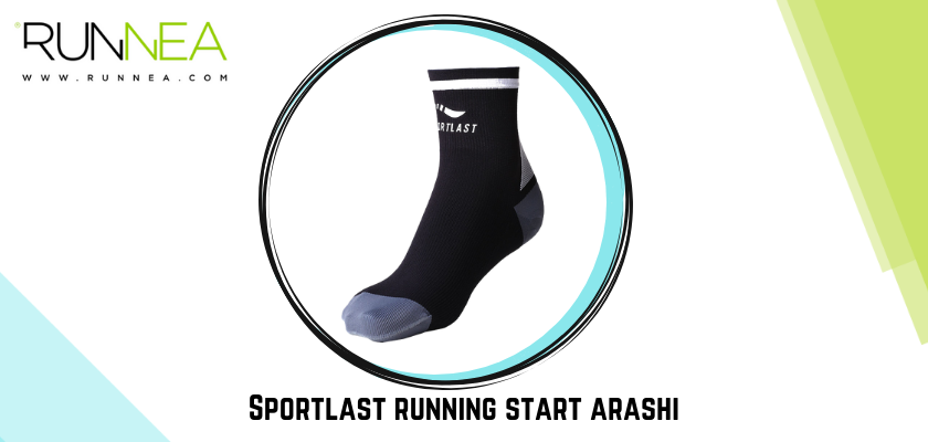 Sportlast calcetín compresión running start arashi
