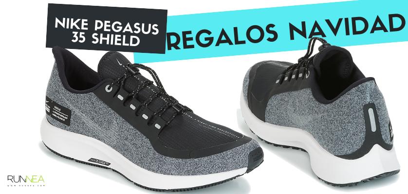 Los mejores regalos de Navidad para un runner - Nike Pegasus 35 Shield