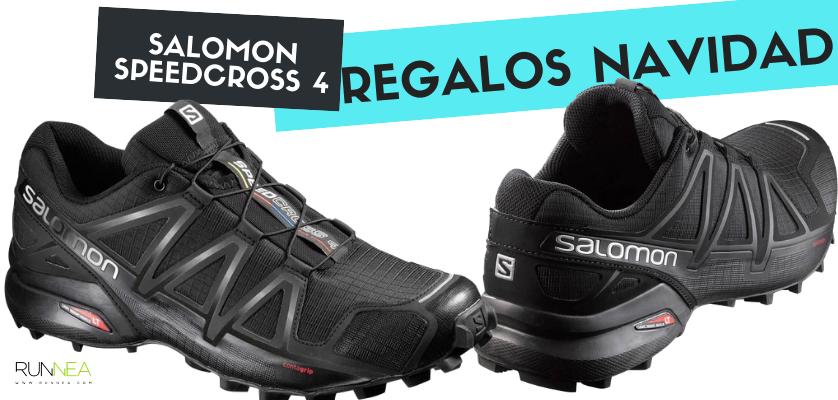 Los mejores regalos de Navidad para un runner - Salomon Speedcross 4