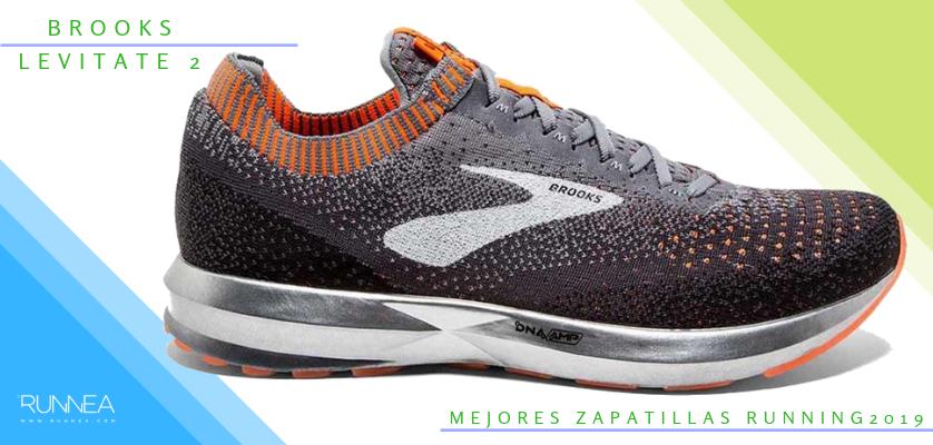 Mejores zapatillas de running 2019 - Brooks Levitate 2