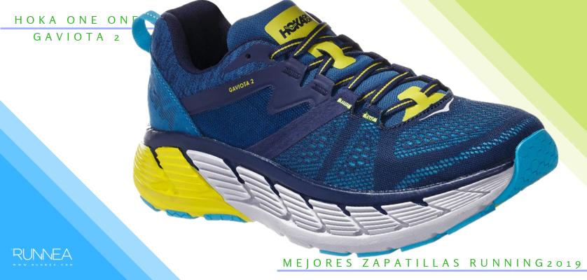 Mejores zapatillas de running 2019 - Hoka One One Gaviota 2