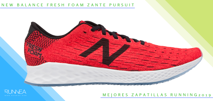 Mejores zapatillas de running 2019 - New Balance Fresh Foam Zante Pursuit