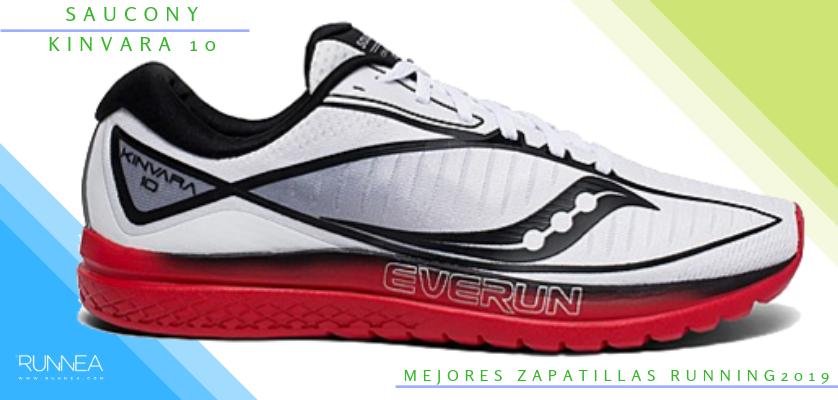 Mejores zapatillas de running 2019 - Saucony Kinvara 10