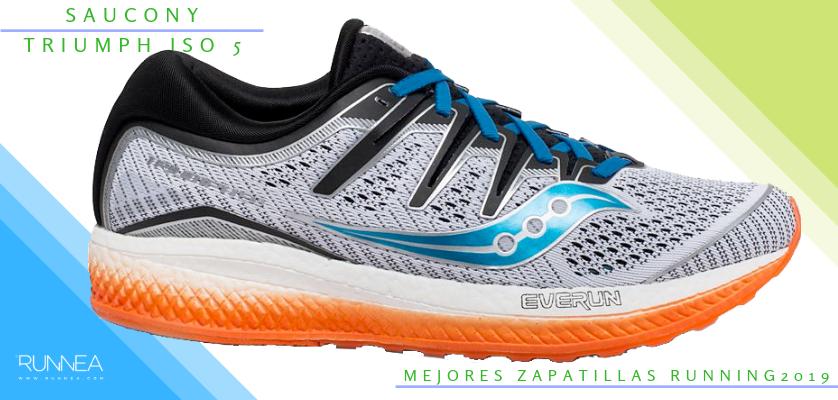 Mejores zapatillas de running 2019 - Saucony Triumph ISO 5