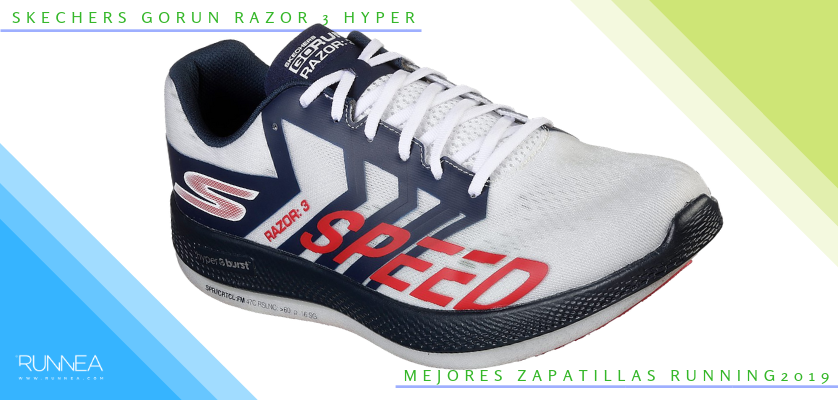 Mejores zapatillas de running 2019 - Skechers GOrun Razor 3 Hyper