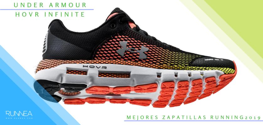 Mejores zapatillas de running 2019 - Under Armour HOVR Infinite