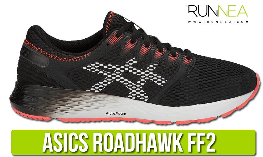 Mejores zapatillas de running 2019 de ASICS - ASICS RoadHawk FF2