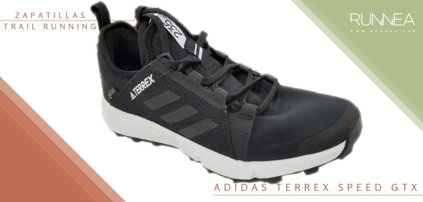 Mejores zapatillas de trail running 2019 - Adidas Terrex Speed GTX