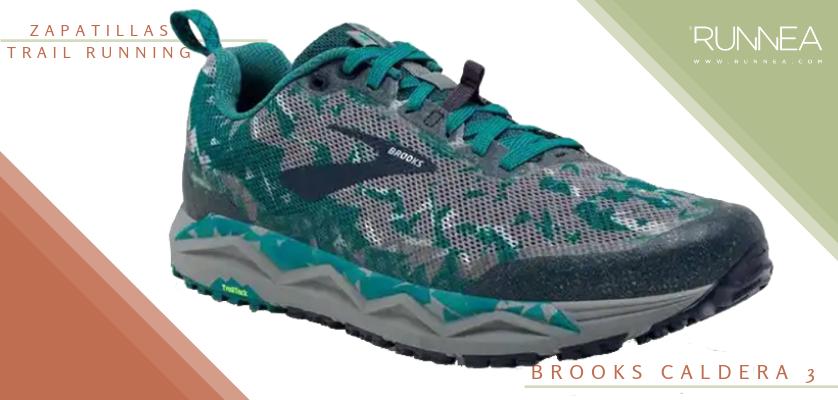 Mejores zapatillas de trail running 2019 - Brooks Caldera 3