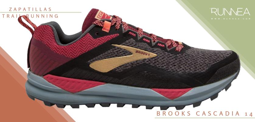 Mejores zapatillas de trail running 2019 - Brooks Cascadia 14