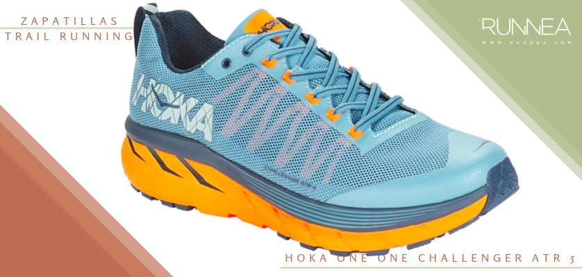Mejores zapatillas de trail running 2019 - Hoka One One Challenger ATR 5