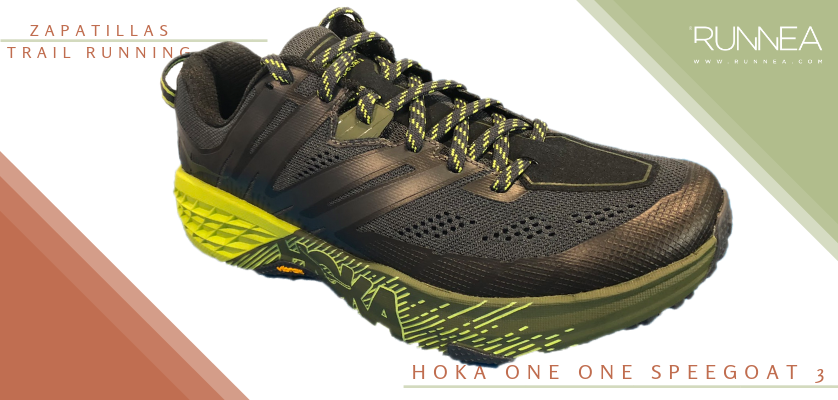 Mejores zapatillas de trail running 2019 - Hoka One One Speedgoat 3