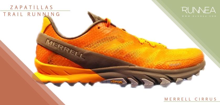 Mejores zapatillas de trail running 2019 - Merrell Cirrus