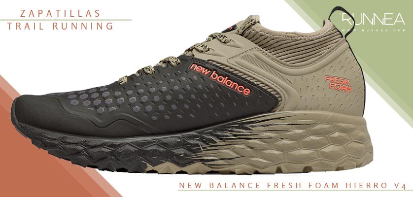 Mejores zapatillas de trail running 2019 - New Balance Fresh Foam Hierro v4