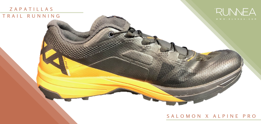 Mejores zapatillas de trail running 2019 - Salomon X Alpine Pro