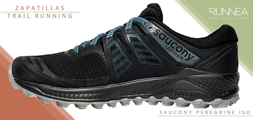 Mejores zapatillas de trail running 2019 - Saucony Peregrine ISO