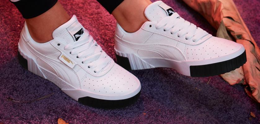 Las zapatillas Puma Cali blancas están triunfando entre las ...