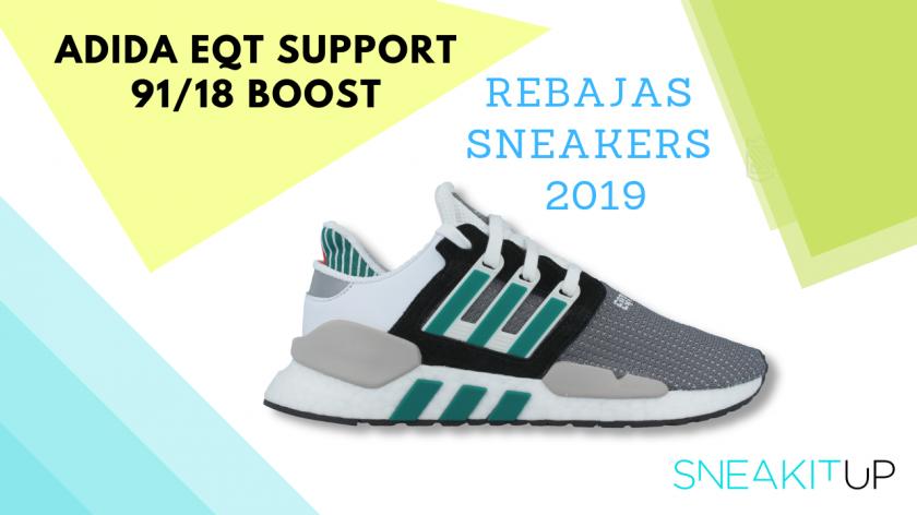 rebajas sneakers 2019 Adidas EQT Support 91/18 Boost