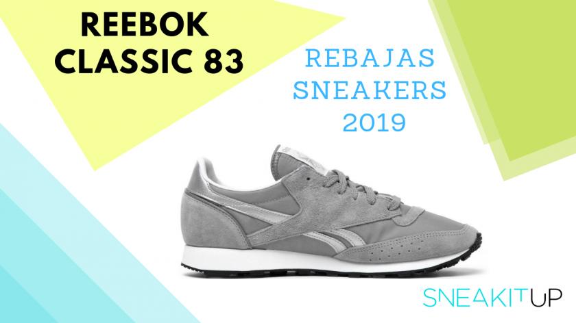 rebajas sneakers 2019 Reebok Classic 83