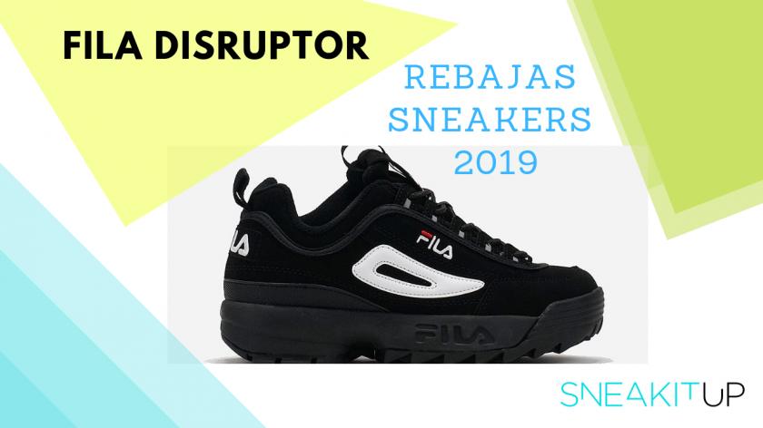rebajas sneakers 2019 fila disruptor