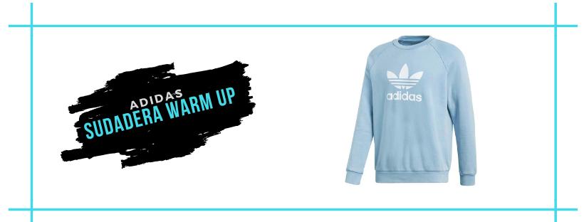 Regalo amigo invisible Sudadera Adidas Originals Trefoil Warm Up