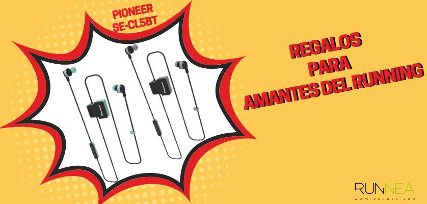 Regalos para amantes del running - Auriculares deportivos Pioneer SE-CL5BT-H