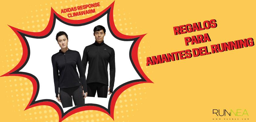 Regalos para amantes del running - Camiseta técnica Adidas Response Climawarm